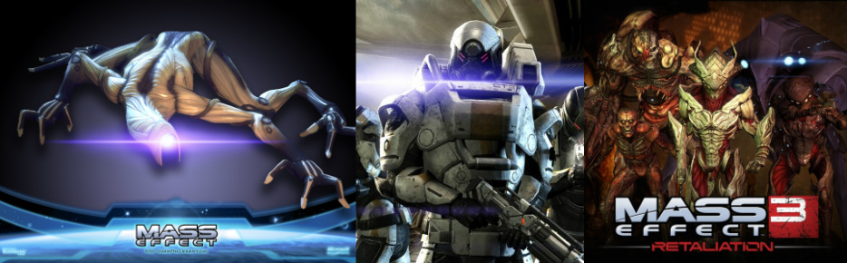 My Favorite: Mass Effect Enemies - Darren Weathers
